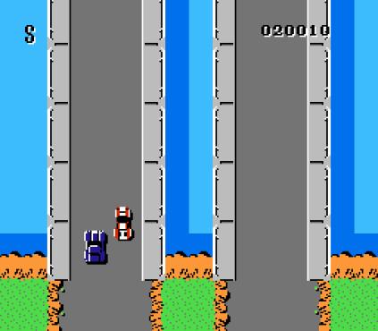 Spy Hunter NES 31