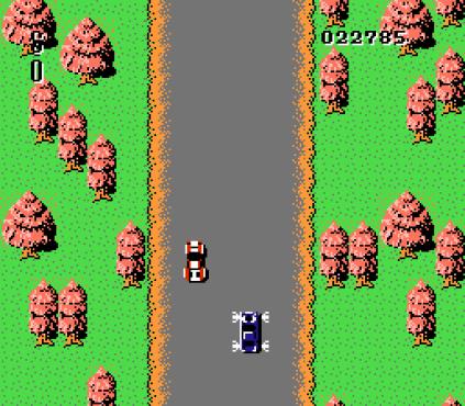 Spy Hunter NES 34