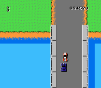 Spy Hunter NES 36