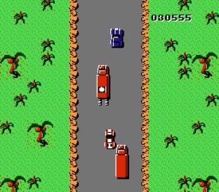 Spy Hunter NES 42