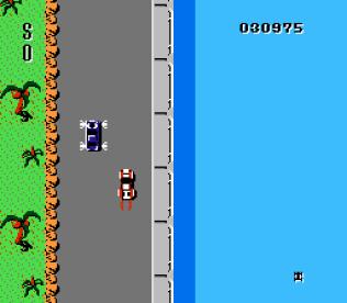 Spy Hunter NES 43