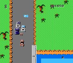 Spy Hunter NES 44