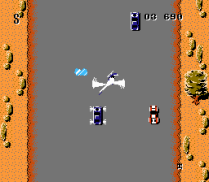 Spy Hunter NES 52