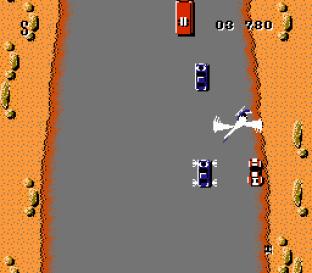 Spy Hunter NES 53