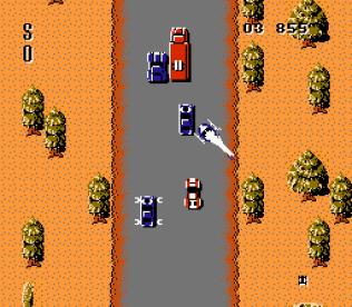 Spy Hunter NES 54