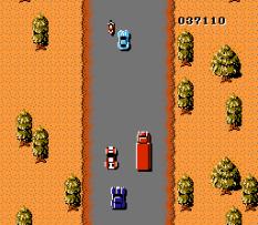 Spy Hunter NES 55
