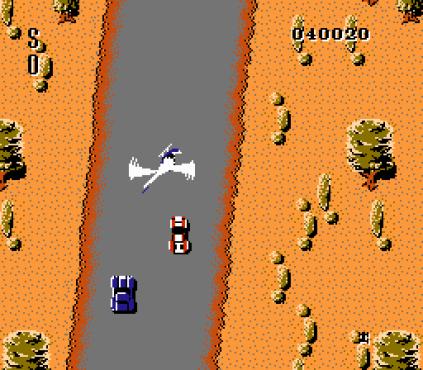 Spy Hunter NES 56