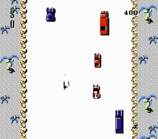 Spy Hunter NES 75