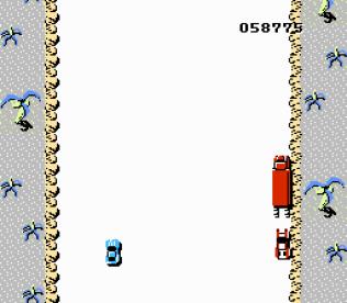 Spy Hunter NES 76