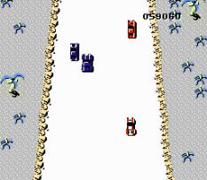 Spy Hunter NES 77