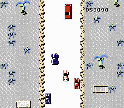 Spy Hunter NES 78
