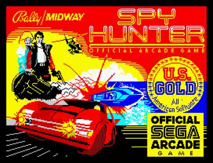 Spy Hunter ZX Spectrum 01