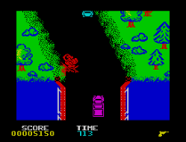 Spy Hunter ZX Spectrum 08