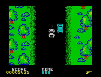 Spy Hunter ZX Spectrum 09