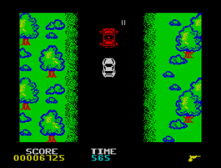 Spy Hunter ZX Spectrum 11
