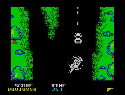 Spy Hunter ZX Spectrum 12