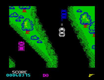 Spy Hunter ZX Spectrum 31