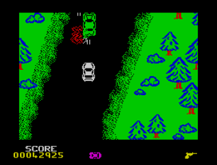 Spy Hunter ZX Spectrum 33