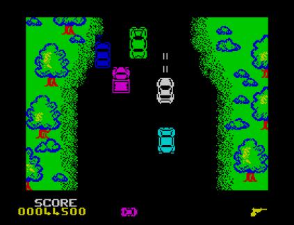 Spy Hunter ZX Spectrum 34