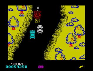 Spy Hunter ZX Spectrum 43
