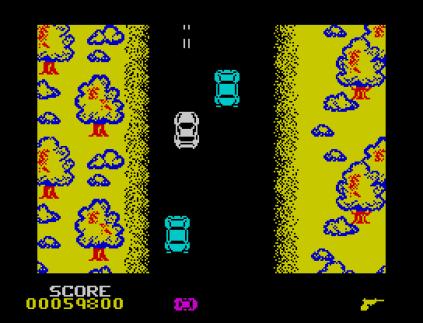 Spy Hunter ZX Spectrum 45