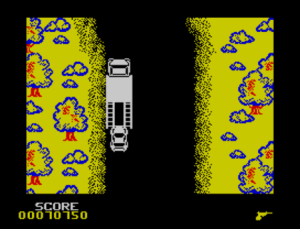 Spy Hunter ZX Spectrum 53