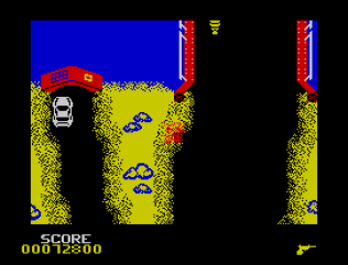 Spy Hunter ZX Spectrum 55