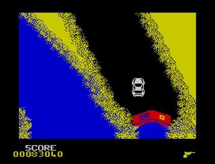 Spy Hunter ZX Spectrum 64