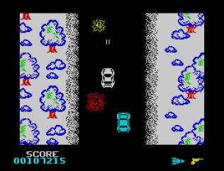 Spy Hunter ZX Spectrum 76