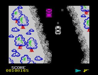 Spy Hunter ZX Spectrum 77