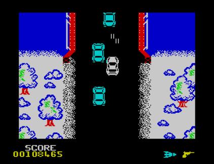 Spy Hunter ZX Spectrum 78