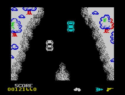 Spy Hunter ZX Spectrum 86