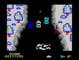 Spy Hunter ZX Spectrum 87
