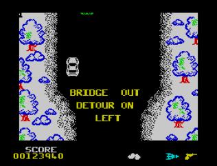 Spy Hunter ZX Spectrum 88