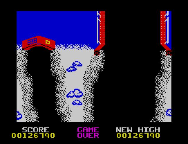 Spy Hunter ZX Spectrum 89
