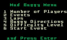 Stadium Mud Buggies Intellivision 02