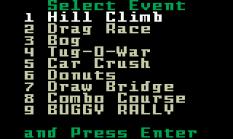 Stadium Mud Buggies Intellivision 18