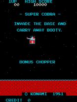 Super Cobra Arcade 01