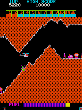 Super Cobra Arcade 25