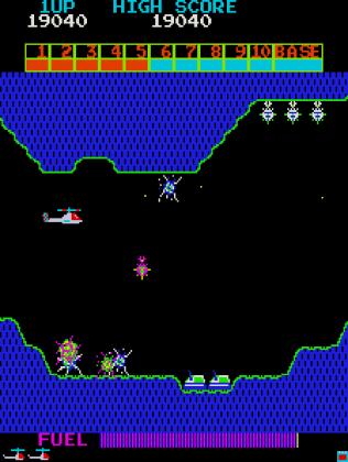 Super Cobra Arcade 64