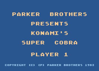 Super Cobra Atari 800 01