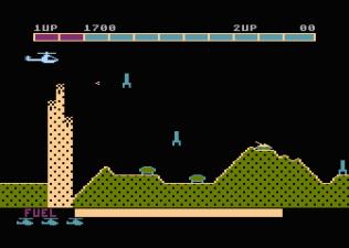 Super Cobra Atari 800 11