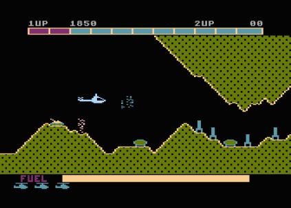 Super Cobra Atari 800 12