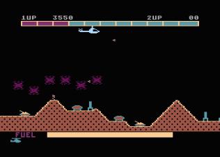 Super Cobra Atari 800 22