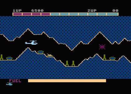 Super Cobra Atari 800 34