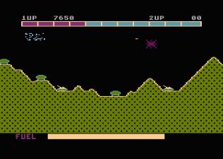 Super Cobra Atari 800 40