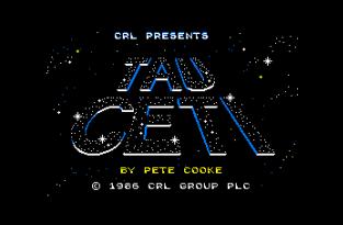 Tau Ceti Amstrad CPC 01