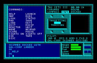 Tau Ceti Amstrad CPC 09
