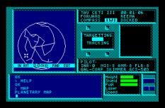 Tau Ceti Amstrad CPC 10