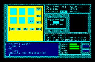 Tau Ceti Amstrad CPC 12